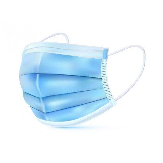 Zaščitna maska 50kom - 3 slojne zaščitne maske - higienske
