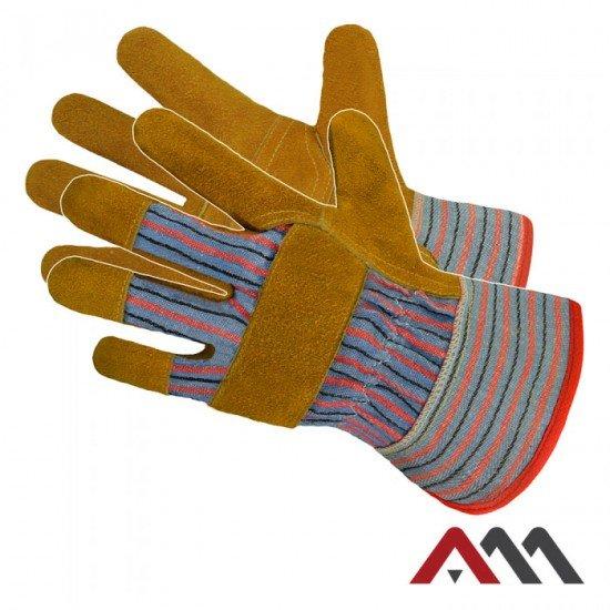 Zaščitne usnjene rokavice RDZ