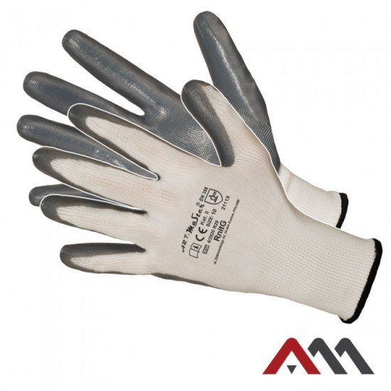 Zaščitne rokavice RNITG (Rokavice prevlečene nitril)