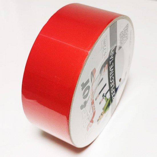 Rdeč odsevni trak 50mm (Odsevni - svetleči trakovi)