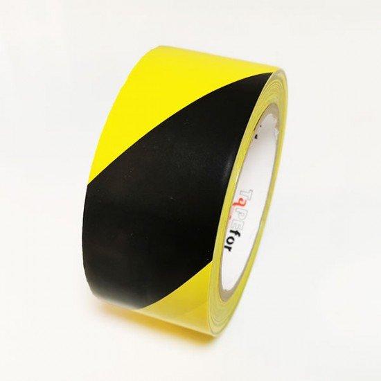 Označevalni trak rumeno črn Tapefor 30m (Označevalni trakovi)