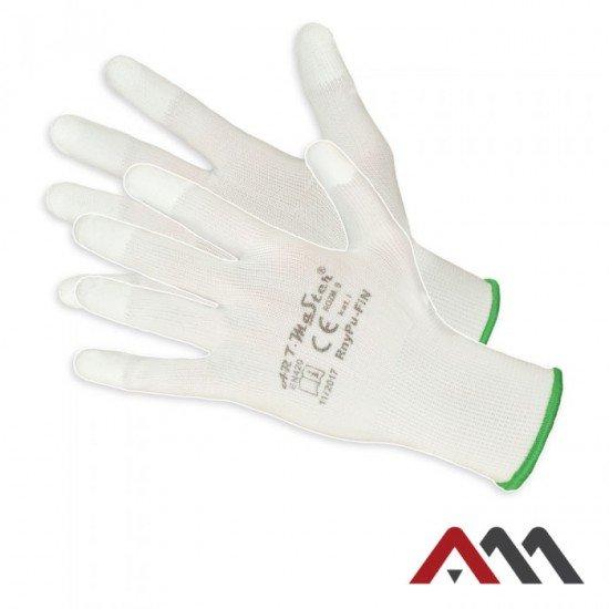 Zaščitne PU rokavice RNYPU-fin (Rokavice prevlečene poliuretan)