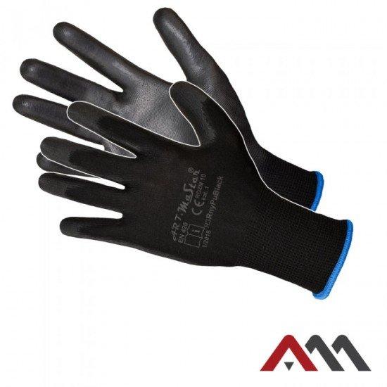 Zaščitne PU rokavice RNYPU- B (Rokavice prevlečene poliuretan)